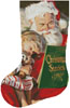 Christmas Stories Stocking (Left) - Cross Stitch Chart