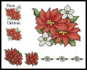 Christmas Tablecloth and Napkins 1 - Cross Stitch Chart