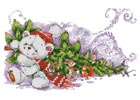 Christmas Teddy and Friends - Cross Stitch Chart