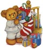 Christmas Teddy Boy - Cross Stitch Chart