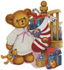 Christmas Teddy Girl - Cross Stitch Chart