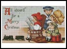 Christmas Train - Cross Stitch Chart