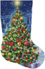 Christmas Tree Stocking (Right) - Cross Stitch Chart