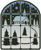 Christmas Window - Cross Stitch Chart