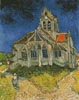 Church at Auvers - Cross Stitch Chart
