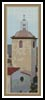 Church Bookmark - Cross Stitch Chart