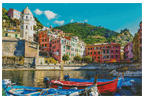 Cinque Terre - (Facebook Group) Cross Stitch Chart