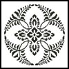 Circle Pattern - Cross Stitch Chart