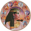 Cleopatra Circle (Right) - Cross Stitch Chart