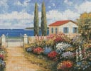 Coastal Garden Walk - Cross Stitch Chart