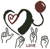 Cochlear Love - Cross Stitch Chart