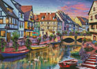 Colmar Canal - Cross Stitch Chart