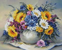 Colourful Bouquet - Cross Stitch Chart