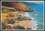 Colourful Coast - Cross Stitch Chart