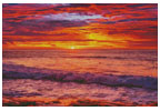 Colourful Sunset - Cross Stitch Chart