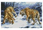 Confrontation - Cross Stitch Chart