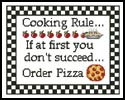 Cooking Rule - Cross Stitch Chart