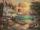Cottage by the Sea - Cross Stitch Chart