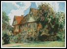 Cottage in Cranbrook, Kent - Cross Stitch Chart