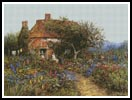 A Cottage near Brook, Witley, Surrey - Cross Stitch Chart