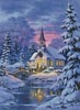 Country Church - Cross Stitch Chart