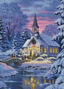 Country Church (Crop) - Cross Stitch Chart