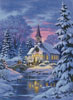 Country Church (Large) - Cross Stitch Chart