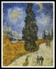 Country Road in Provence - Cross Stitch Chart