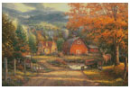 Country Roads Take Me Home - Cross Stitch Chart
