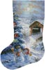 Country Shopping Stocking (Left 2) - Cross Stitch Chart