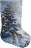 Country Shopping Stocking (Right) - Cross Stitch Chart