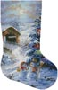 Country Shopping Stocking (Right 2) - Cross Stitch Chart