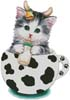 Cow Kitty Cup - Cross Stitch Chart