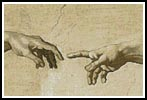 Creation of Adam - Cross Stitch Chart