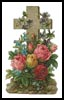 Cross of Flowers 2 - Cross Stitch Chart