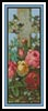 Cross of Flowers Bookmark - Cross Stitch Chart