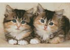 Cute Kittens - Cross Stitch Chart