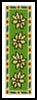 Daisy Bookmark - Cross Stitch Chart