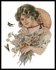 Daisy Lady - Cross Stitch Chart