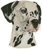 Dalmatian Painting - Cross Stitch Chart