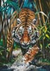 Dangerous Tiger - Cross Stitch Chart