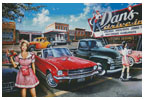 Dan's Drive In - Cross Stitch Chart