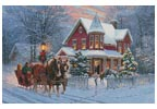 Dashing through the Snow - Cross Stitch Chart