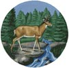 Deer Circle - Cross Stitch Chart