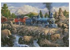Delaying the Iron Horse - Cross Stitch Chart