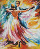 Delightful Waltz (Large) - Cross Stitch Chart
