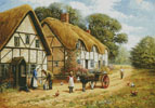 Delivering the Milk (Large) - Cross Stitch Chart