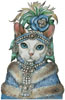 Devon Rex Mademoiselle - Cross Stitch Chart