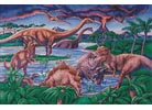 Dinosaurs - Cross Stitch Chart