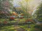 Dogwood Cottage - Cross Stitch Chart